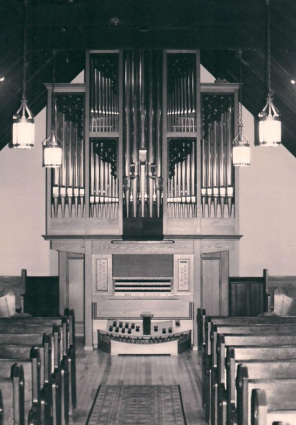 All Saints' organ